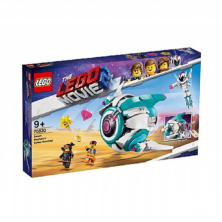 LEGO The Movie - A Nave Estelar de Sweet Mayhem - 70830