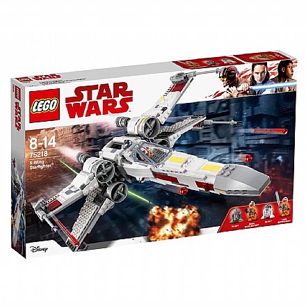 LEGO Star Wars - A Nave X-Wing - 75218
