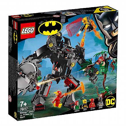 LEGO Super Heroes DC Comics - Batman e Flash Contra Hera Venenosa e Vagalume - 76117