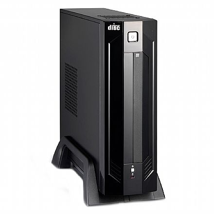Gabinete K-Mex GI-9D89 - Micro ITX - Preto Piano - com Fonte 180W