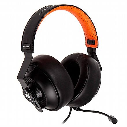 Headset Gamer Cougar Phontum - Microfone Removível - Almofadas Intercambiáveis - Conector 3.5mm - CGR-P53NB-500