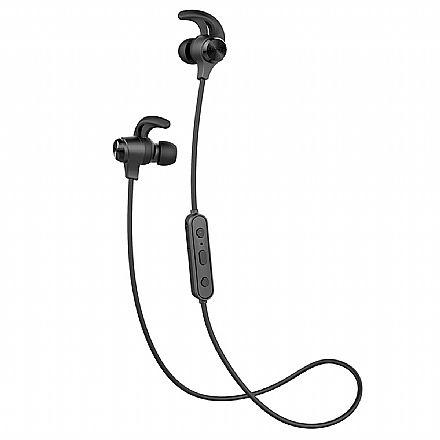 Fone de Ouvido Bluetooth Edifier W280BT - Resistente a Água - com Microfone - Preto