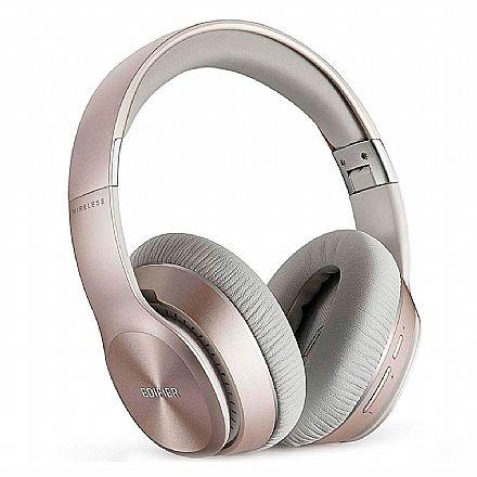 Fone de Ouvido Bluetooth Edifier W820BT - com Microfone Embutido e Conector P2 - Dourado