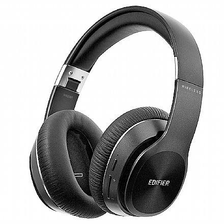 Fone de Ouvido Bluetooth Edifier W820BT - com Microfone Embutido e Conector P2 - Preto