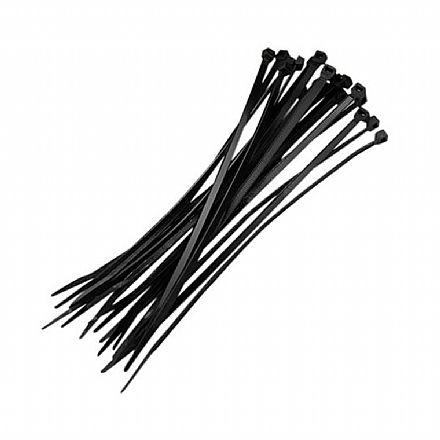 Abraçadeira Nylon 15cm para organização de cabos - pacote com 100 unidades