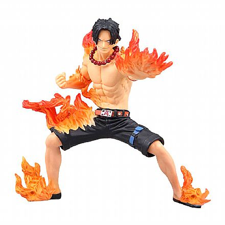 Action Figure - One Piece - Abiliators - Portgas D. Ace - Bandai Banpresto 27063/27064