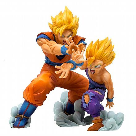 Action Figure - Dragon Ball Z - Vs Existence - Goku & Gohan - Bandai Banpresto 28380/28381