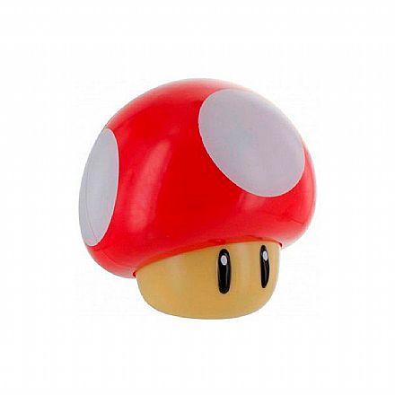 Luminária Nintendo Super Mario Bros - Mushroom - com Som - Paladone PP4017NNTX