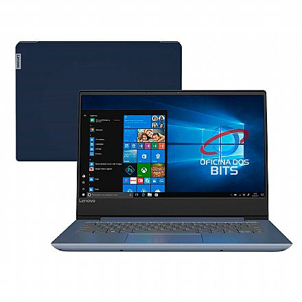 "Notebook Lenovo Ideapad 330S - Tela 14"" Infinita HD, Intel i7 8550U, 12GB, HD 1TB, Intel® UHD Graphics 620, Windows 10 - 81JM0003BR"