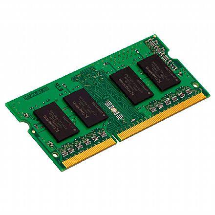 Memória SODIMM 8GB DDR4 2400MHz Kingston - para Notebook - KVR24S17S8/8