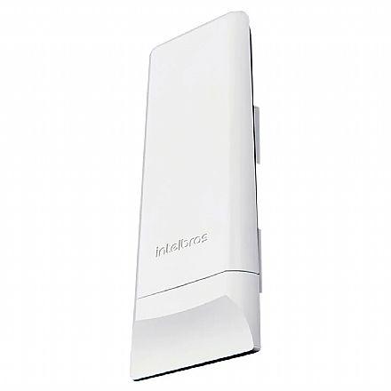 CPE Intelbras WOM 5A Wi-Fi Externo de Alta Potência de Transmissão 630mW - 5GHz - PoE - Antena 16dBi