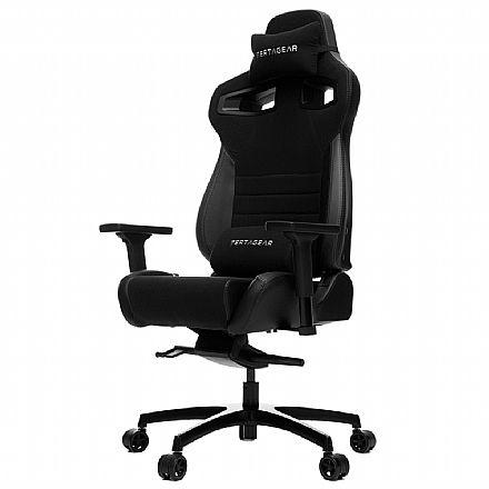 Cadeira Gamer Vertagear Racing Series P-Line VG-PL4500_BK - Encosto Reclinável de 140º - Construção em Aço - Preta