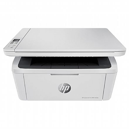 Multifuncional Laser HP Laserjet Pro M28W - 110V - USB, Wi-Fi, Wi-Fi Direct® - Impressora, Copiadora e Scanner - W2G55A