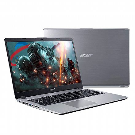 "Acer Aspire A515-52G-577T - Tela 15.6"" HD, Intel i5 8265U, 16GB, SSD 480GB, Video GeForce MX130 2GB, Windows 10"