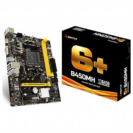 Biostar B450MH (AM4 - DDR4 3200 O.C) Chipset AMD B450 - Slot M.2 - Micro ATX