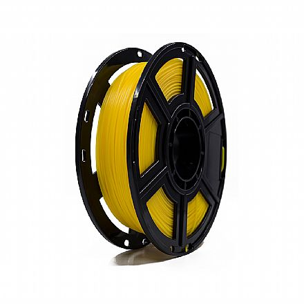 Filamento para Impressora 3D FFF - PLA Amarelo - 0,5Kg - 1,75mm - Flashforge