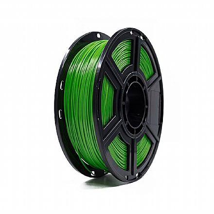 Filamento para Impressora 3D FFF - PLA Verde - 0,5Kg - 1,75mm - Flashforge