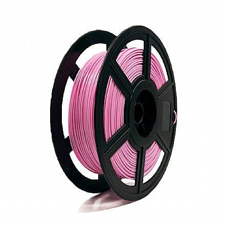 Filamento para Impressora 3D FFF - PLA Rosa - 0,5Kg - 1,75mm - Flashforge