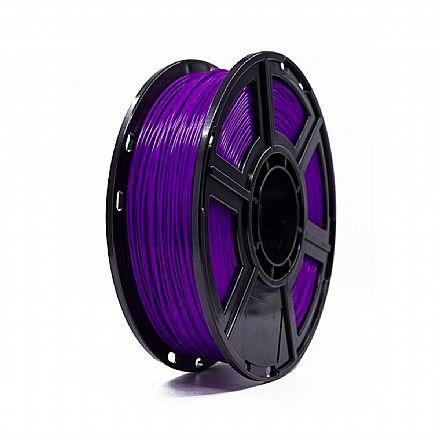 Filamento para Impressora 3D FFF - PLA Roxo - 0,5Kg - 1,75mm - Flashforge