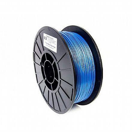 Filamento para Impressora 3D FFF - PLA Perolado Azul - 0,5Kg - 1,75mm - Flashforge