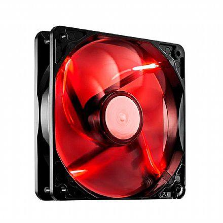 Cooler 120x120mm BPC - LED Vermelho - BPC-12