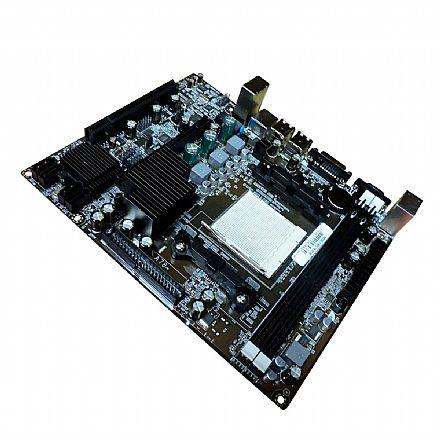 Placa Mãe BPC-78LM2-M (AM2 - DDR2) Chipset AMD - Micro ATX