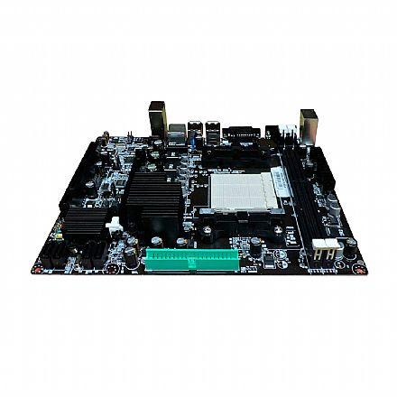 Placa Mãe BPC-78LM3-M (AM3 - DDR3) Chipset AMD - Micro ATX