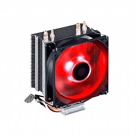 Cooler BPC Gamer 100 - (AMD / Intel) - LED Vermelho - BPC-GAMER100