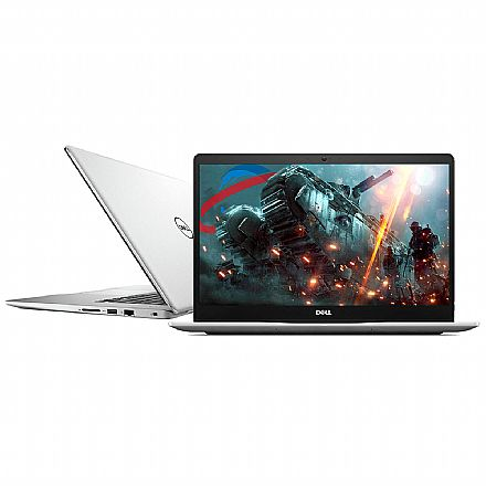 "Dell Inspiron i15-7580-A20S - Tela 15.6"" Infinita Full HD, Intel i7 8565U, 8GB, SSD 240GB, GeForce MX150 2GB, Windows 10 - Prata - Outlet"