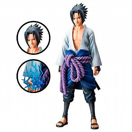 Action Figure - Naruto Mangá Dimension - Uchiha Sasuke Grandista - Bandai Banpresto 27978/27979