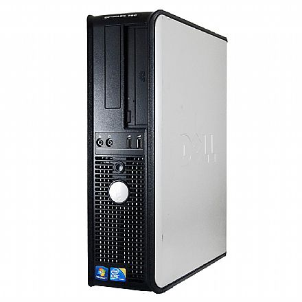 Computador Dell OptiPlex 780 - Intel Core 2 Duo E7500, 4GB, HD 500GB, DVD, Windows 7 Pro - Branco - Garantia 1 ano - Seminovo
