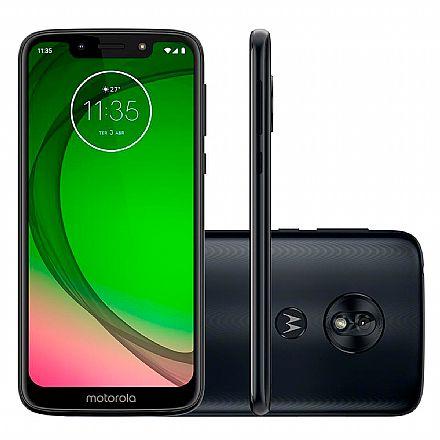 """Smartphone Motorola Moto G7 Play - Tela 5.7"""" HD+, 32GB, Dual Chip 4G, Câmera 13MP, Leitor de Digital - Indigo - XT1952-2"""