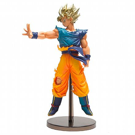 Action Figure - Dragon Ball Super - Blood Of Saiyans - Goku Super Saiyajin - Bandai Banpresto 28557/28558