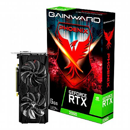 GeForce RTX 2060 6GB GDDR6 192bits - Phoenix - Gainward NE62060018J9-1062X