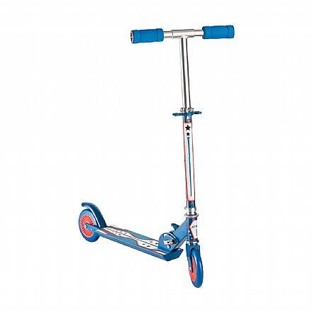 Patinete Infantil Multilaser Atrio ES108 - Dobrável - Guidão ajustável - Suporta até 50Kg - Azul