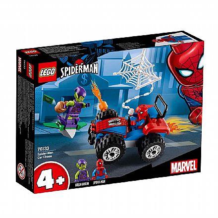 LEGO Marvel Super Heroes - Homem-Aranha contra Duende Verde - 76133