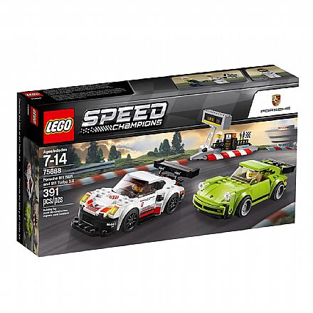 LEGO Speed Champions - Porsche 911 RSR e 911 Turbo 3.0 - 75888