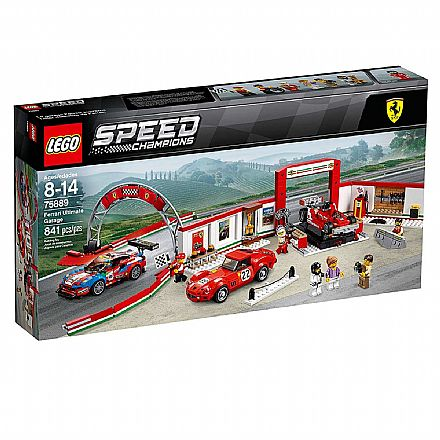 LEGO Speed Champions - Garagem Ferrari Ultimate - 75889