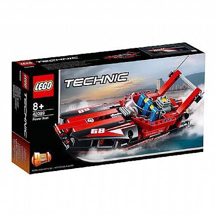 LEGO Technic - Modelo 2 em 1: Potentes Barcos a Motor - 42089