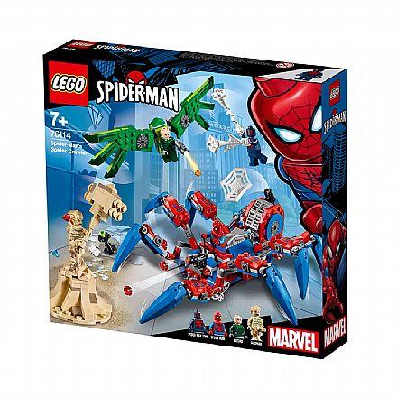 LEGO Marvel Super Heroes - A Aranha Robô do Homem-Aranha - 76114