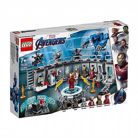 LEGO Marvel Super Heroes - Homem de Ferro: Salão de Armaduras - 76125