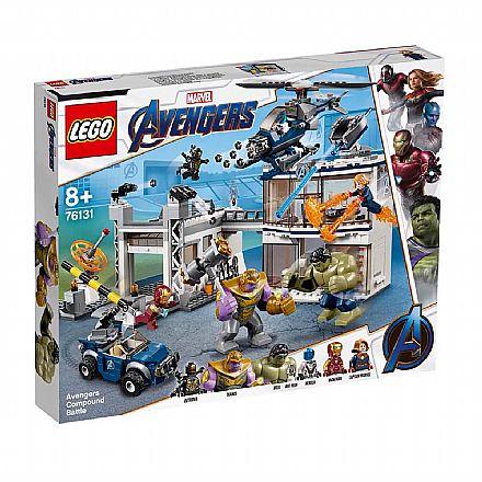LEGO Marvel Super Heroes - Base dos Vingadores - 76131