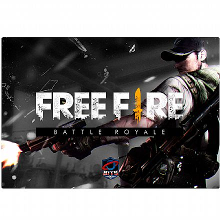 Mouse Pad Bits Gamer Free Fire - 250 x 360mm - Grande