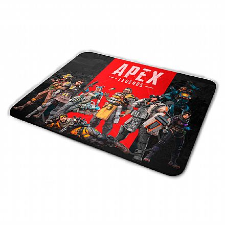 Mouse Pad Bits Gamer APEX Legends - 250 x 360mm - Grande