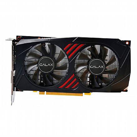 GeForce GTX 1060 6GB GDDR5X 192bits - OC Dual RedBlack - Galax 60NRJ7DSX1PO