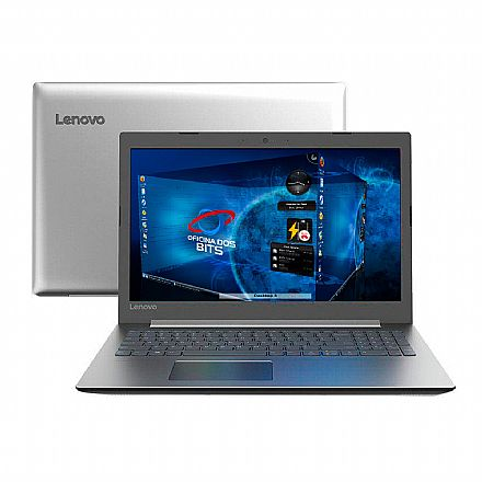 "Notebook Lenovo Ideapad 330 - Tela 15.6"" HD, Intel i3 7020U, 4GB, SSD 120GB, Linux - 81FES00100"