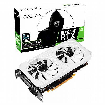 GeForce RTX 2060 6GB GDDR6 192bits - Ex White Dual - 1-Click OC - Galax 26NRL7HPY3EW