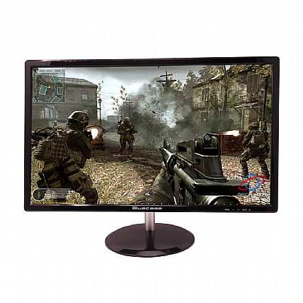 "Monitor 24"" Bluecase Gamer BM242GW - 144Hz - Full HD - 1ms - FreeSync - DisplayPort/HDMI"
