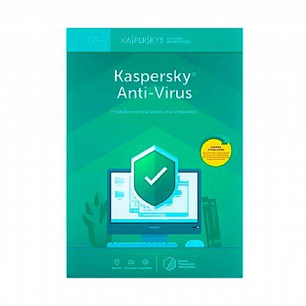 Kaspersky Antivírus 2019 - Licença de 1 Ano - para 3 PCs - Versão Download