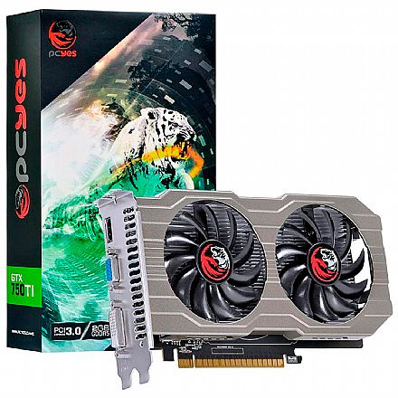 GeForce GTX 750 TI 2GB GDDR5 128bits - PCYes PA750TI12802G5DF